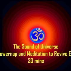 Overtone #Aumkar ॐ for Deep #Meditation #Powernap and energy revival 30mins