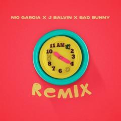 086. Nio Garcia Feat J Balvin, Bad Bunny - AM (Remix) [Fadek WideM!x] (Free Download)