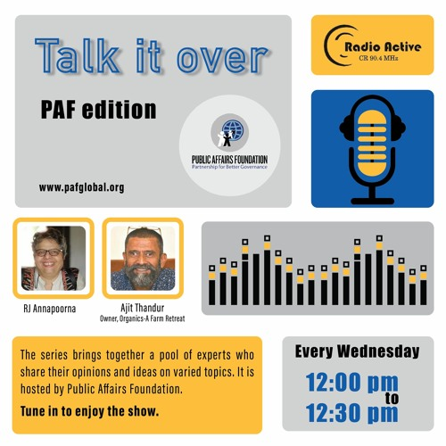 Talk It Over Ep 16 With Ajit By Dr.Annapoorna Ravichander