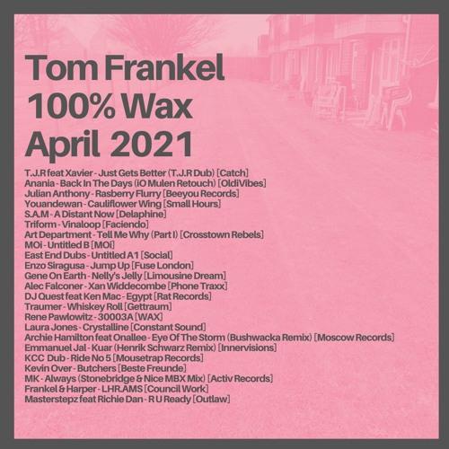 Tom Frankel - 100% WAX | April 2021