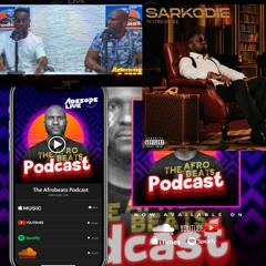 SARKODIE Exclusive, Talks About Burna Boy, African Music & His Album (No Pressure) Afrobeats Podcast