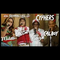 Fivio Foreign, Calboy, 24kGoldn and Mulatto's 2020 XXL Freshman Cypher