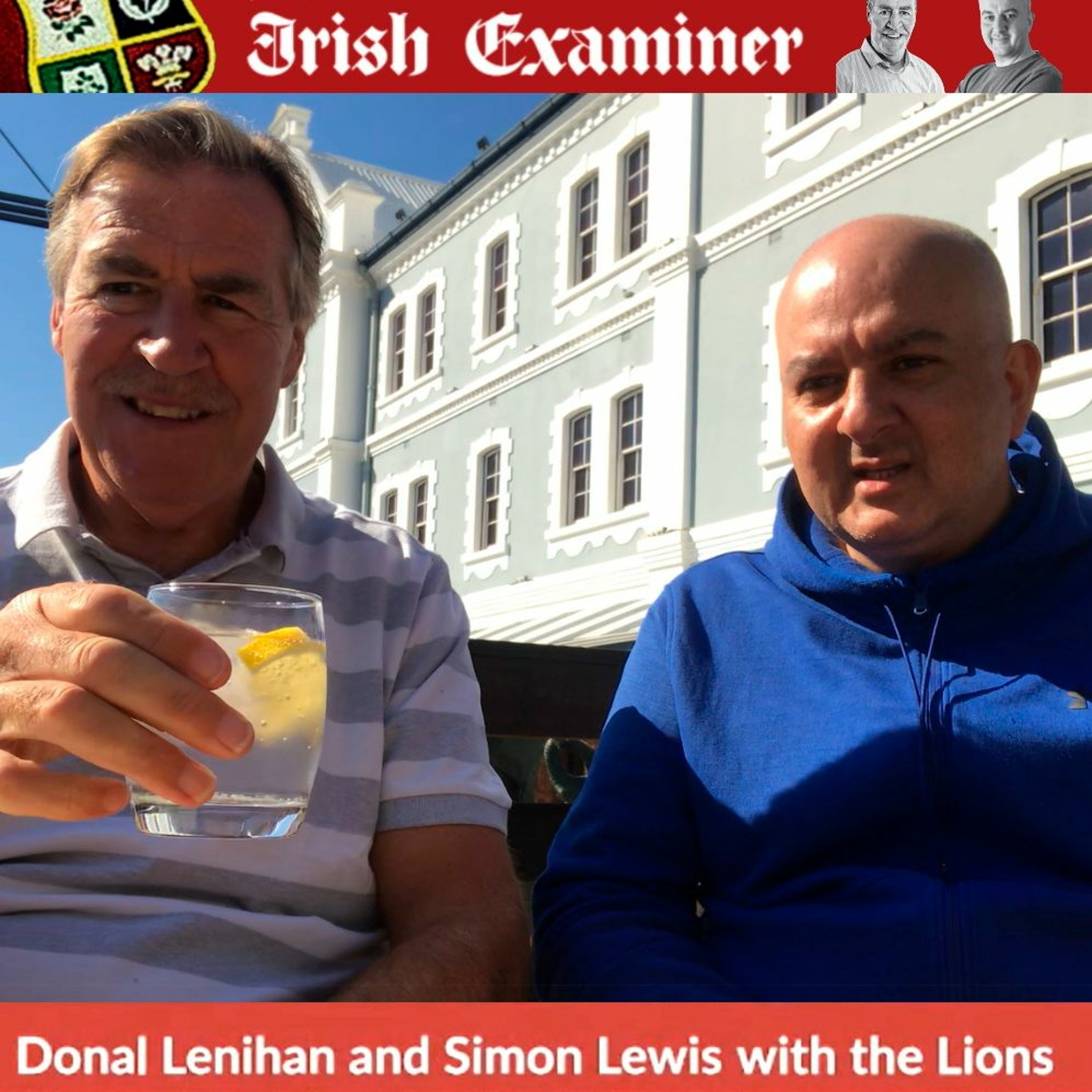 3: Lenihan & Lewis with the Lions - Vitally important to finish this tour on a positive