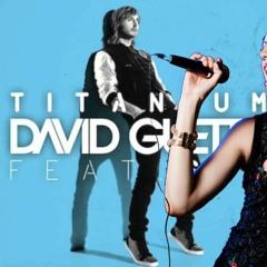 Titanium Unplugged Female Cover by David Guetta | Sia | Made with 🧡 | #Titanium | #DavidGuetta | #2