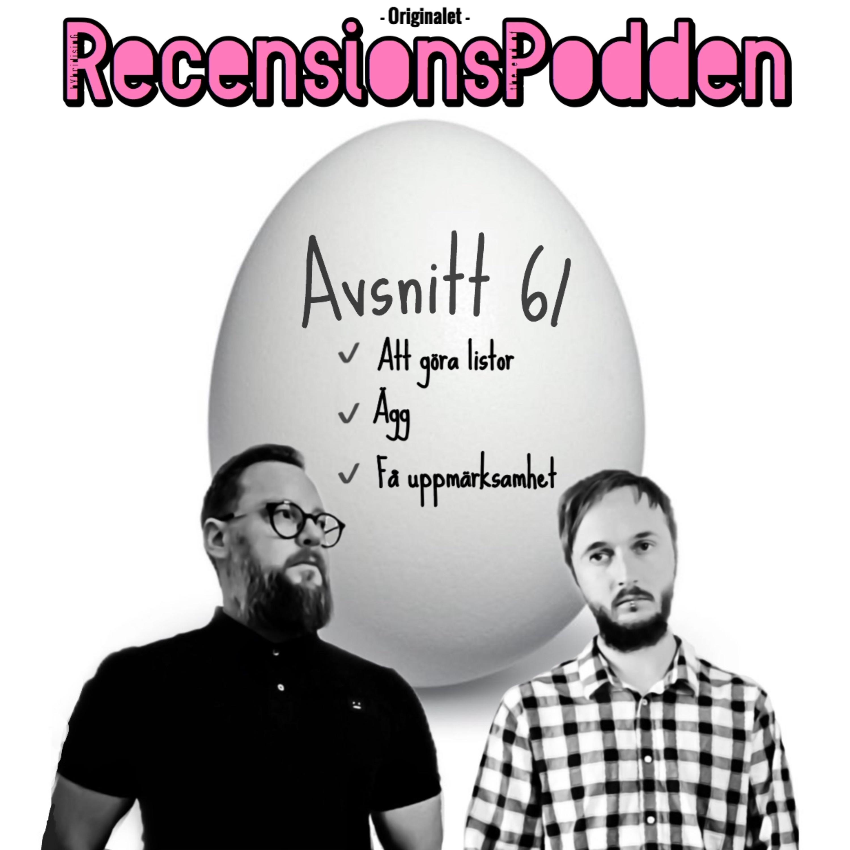 Avsnitt 61 - Ägg och att göra listor