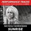 Sunrise (Medium Key-Premiere Performance Plus w/ Background Vocals; TV Track)