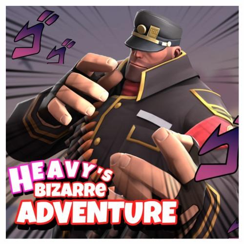 [TF2 Remix] SharaX - Heavy Stream (Jojo's Bloody Stream X TF2)