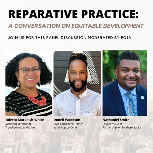 Reparative Practice: A Conversation on Equitable Development [Snippet]