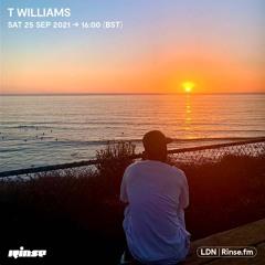 T Williams - 25 September 2021