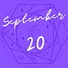 Horoscope for September 20th