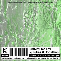 kommerz.fyi w/ Lukas & Jonathan @ Radio 80000 (September 6th, 2021)