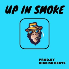 Up In Smoke (Instrumental / Beat ) - Hip Hop / Chill / Relax - 87 bpm