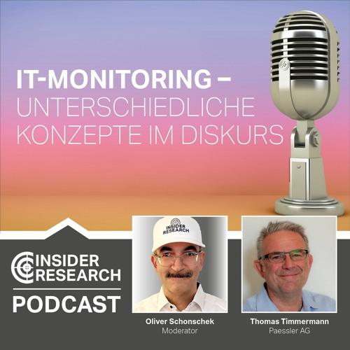 IT-Monitoring - Unterschiedliche Konzepte im Diskurs, mit Thomas Timmermann von Paessler AG