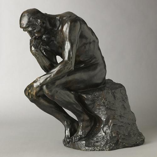 Visite descriptive - Le Penseur de Rodin