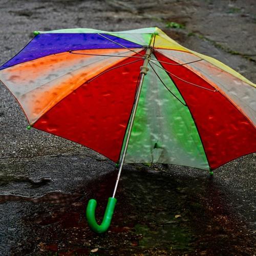 Ich bin ein alter Regenschirm