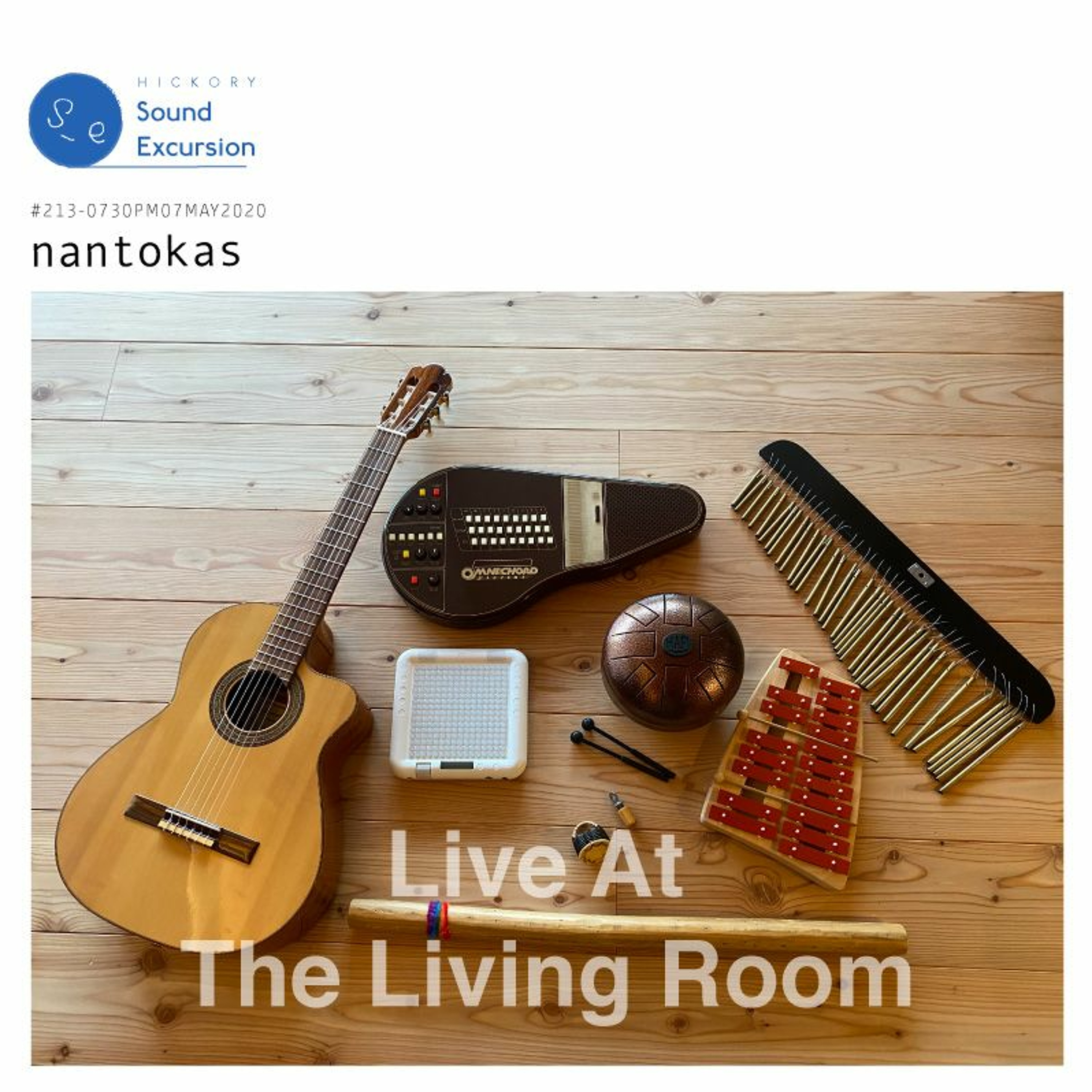 #213-07MAY2020 ▶ ナントカズ - Live At The Living Room