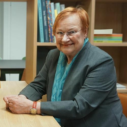 Generation Equality: Presidentti Tarja Halonen - Naisten ja tyttöjen oikeudet 2020