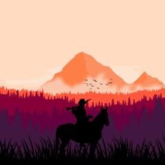 Riding In The Wild West - Joyful Western Music