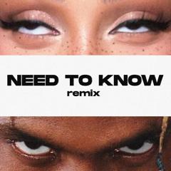 Doja Cat & Travis Scott - Need To Know (Remix)