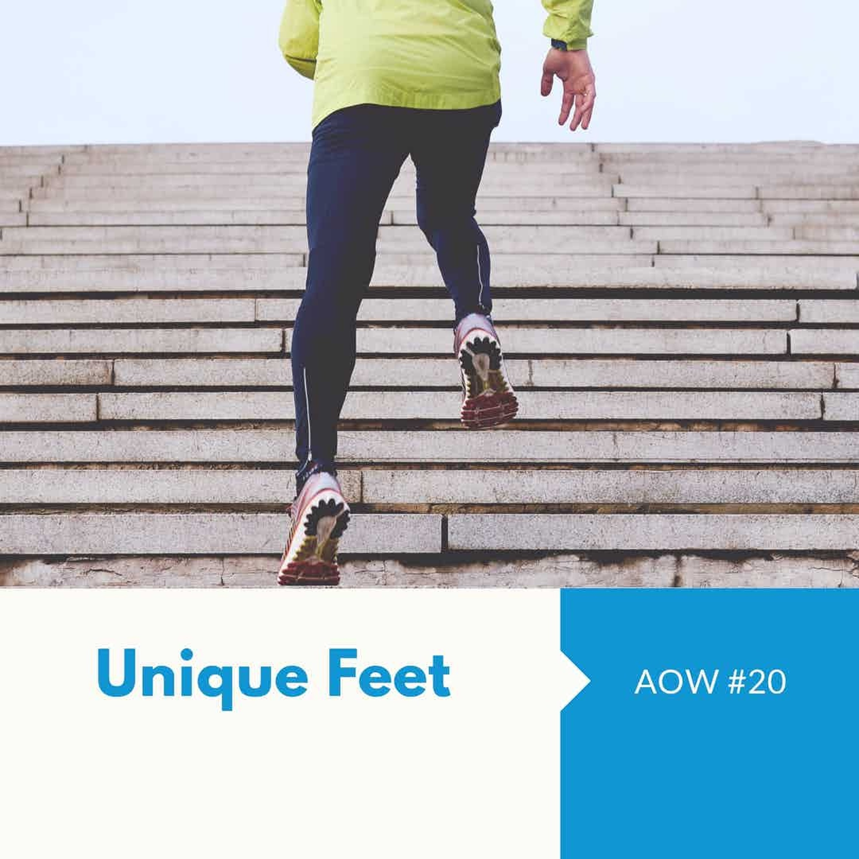 AOW #20 Unique Feet