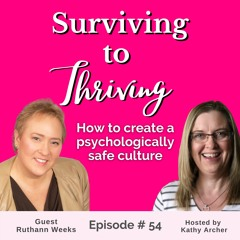 Episode # 54 - Creating a psychologically safe culture in your nonprofit with Ruthann Weeks
