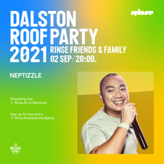 Dalston Roof Party: Neptizzle - 02 September 2021