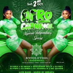 Dj Sean & Dj Era Afro Carnival Mix CD (Nigerian Independence)