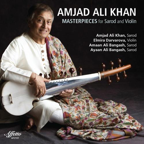 """Singing Angels"" - Amjad Ali Khan, Sarod / Elmira Darvarova, Violin"