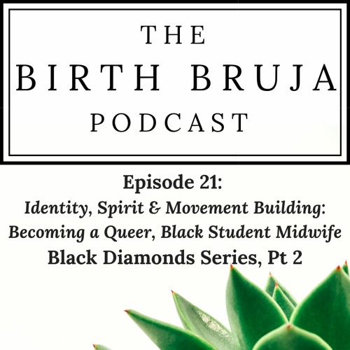 Ep 21 | Identity, Spirit & Movement Building: Becoming a Queer, Black Student Midwife