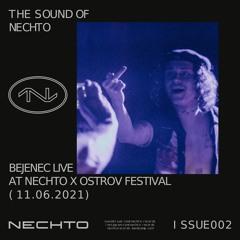 002 Bejenec live @ NECHTO x Ostrov Festival, 11.06.2021