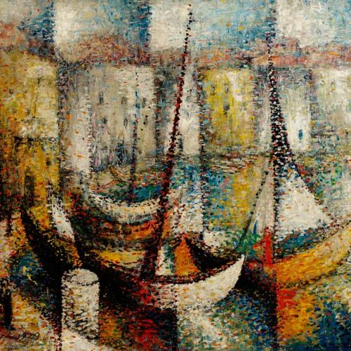 Arthur Segal La Ciotat and Martin Bloch Svendborg Harbour