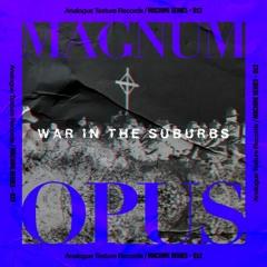 1. War In The Suburbs