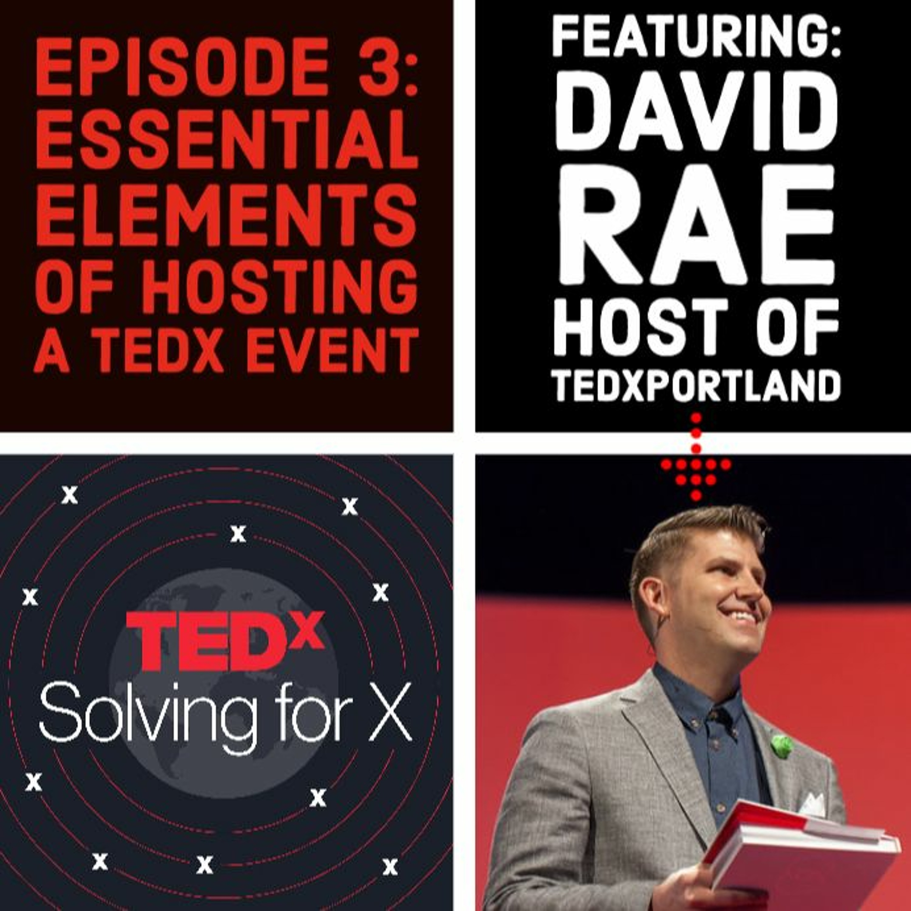Host with passion — David Rae, TEDxPortland