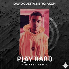 David Guetta Ft. Ne - Yo & Akon - Play Hard (Strixter Remix) [Free release]