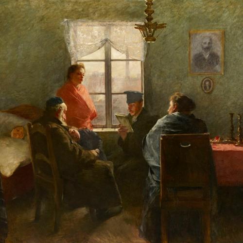 Sabbath Rest by Samuel Hirszenberg