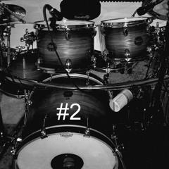 123studio Free Drums Grooves 02 - Hip Hop alternate Clean - Fat - Crackly Kick