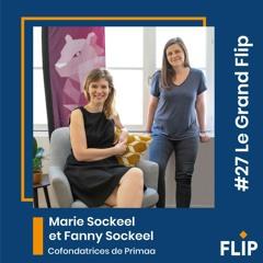 #27 Marie Sockeel et Fanny Sockeel, cofondatrices de Primaa - Intelligence artificielle, cancer du sein et données personnelles de santé !