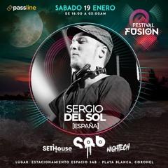 Sergio Del Sol @ Festival Fusion (Jan-19-2019)