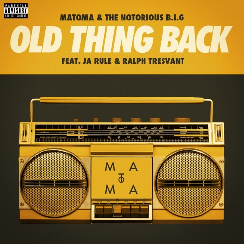 Old Thing Back (feat. Ja Rule and Ralph Tresvant) (Club Edit)