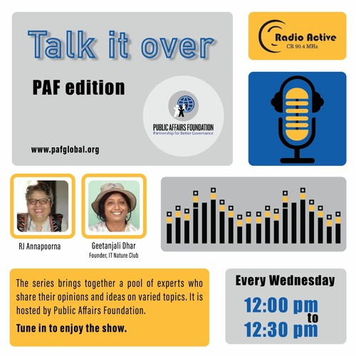 Talk It Over Ep 12  With Geethanjali By RJ Dr. Annapoorna Ravichander
