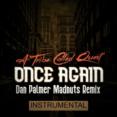 A TRIBE CALLED QUEST - ONCE AGAIN ( DAN PALMER MADNUTS REMIX - INSTRUMENTAL  )