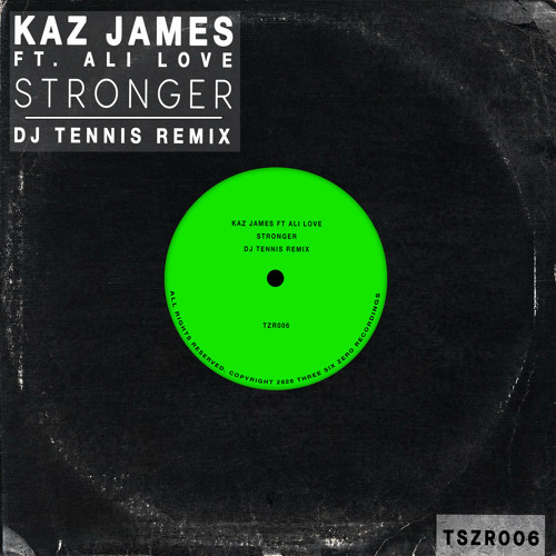 Stronger (DJ Tennis Remix) [feat. Ali Love]