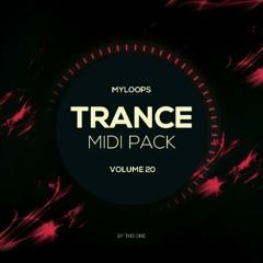 Myloops Trance MIDI Vol. 20 by TH3 ONE