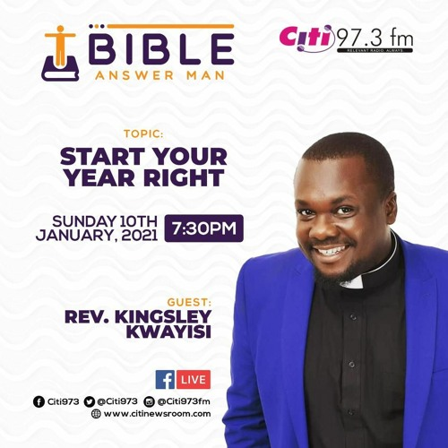 Bible Answer Man - How To Start Your Year Right