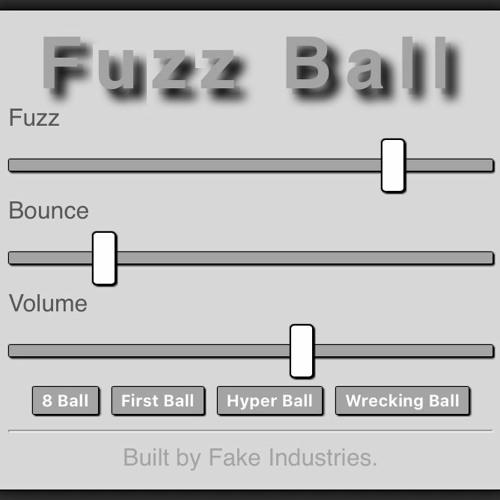 Fake Industries - Fuzz Ball - Fuzz Audio Plugin