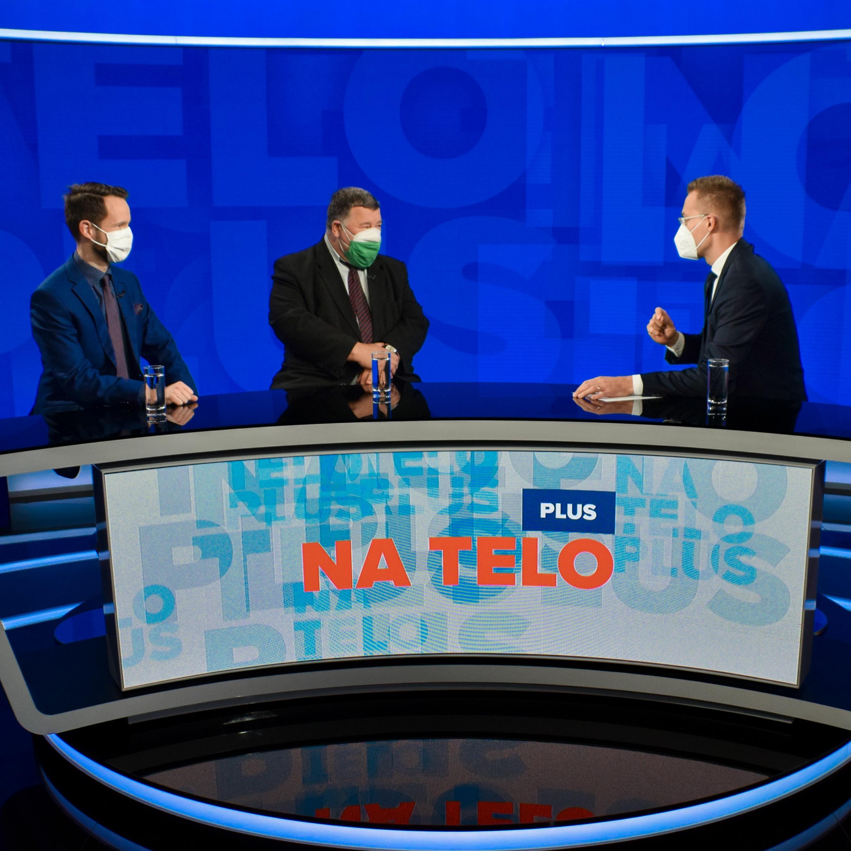 Na telo plus (20.4.): Peter Sabaka a Vladimír Krčméry