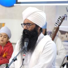 hau kiaa salaahee kiram jant, aarti, mul khareedee - Bhai Gurpreet Singh - Birmingham 16.10.21