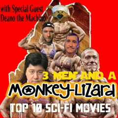 3 Men And A MoNKeY-LiZaRD Ep 28 LIVESTREAM With GEEK STRONG Star Wars, Marvel DC And Sausage Talk!