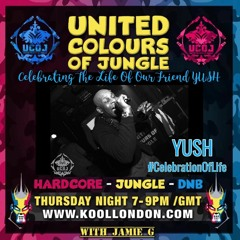 United Colours Of Jungle - Yush Tribute Show - ft Jamie G - 23-09-21