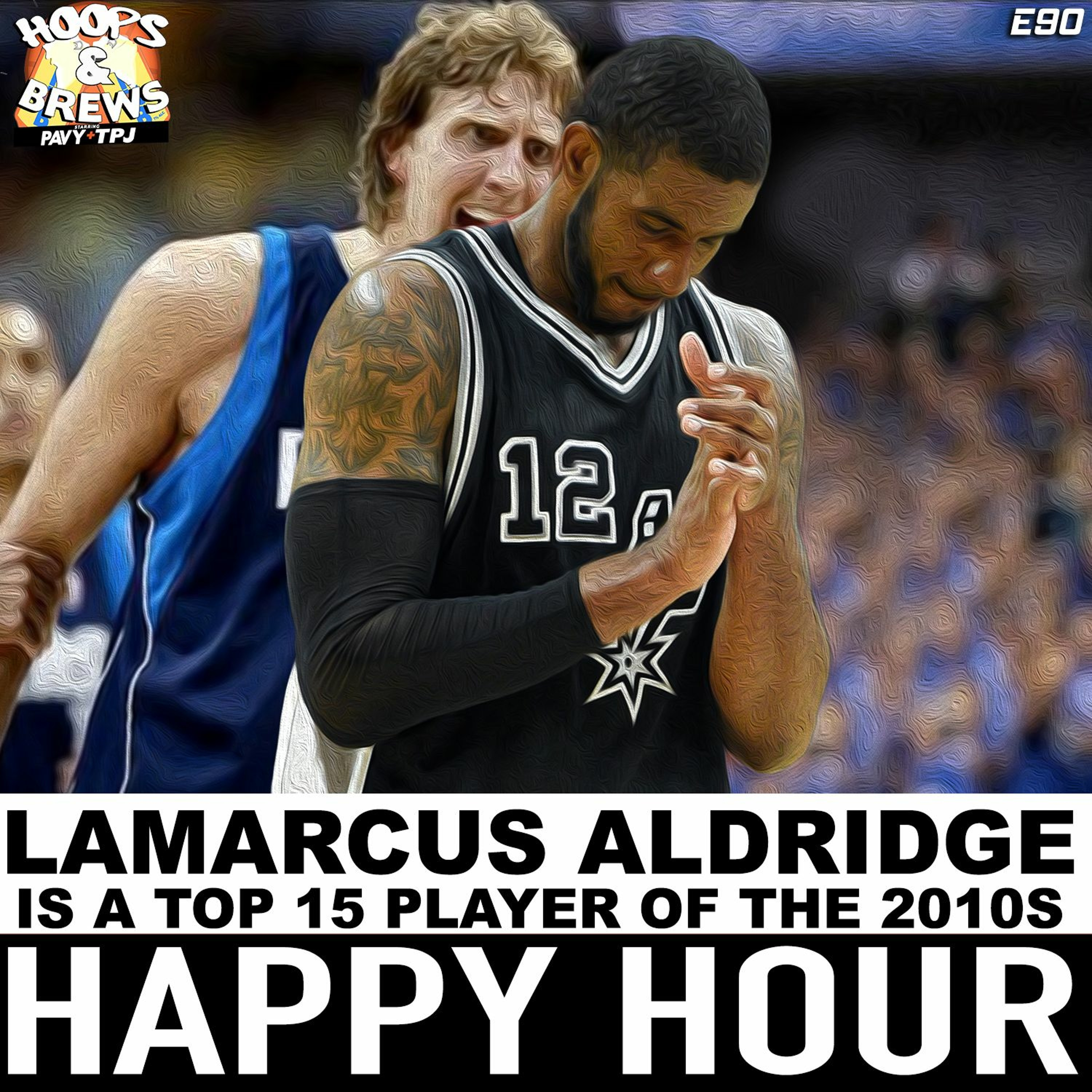 Happy Hour Ep. 90: Lamarcus Aldridge is a Top 15 Player of 2010's + ALL DECADE TEAM 2010s
